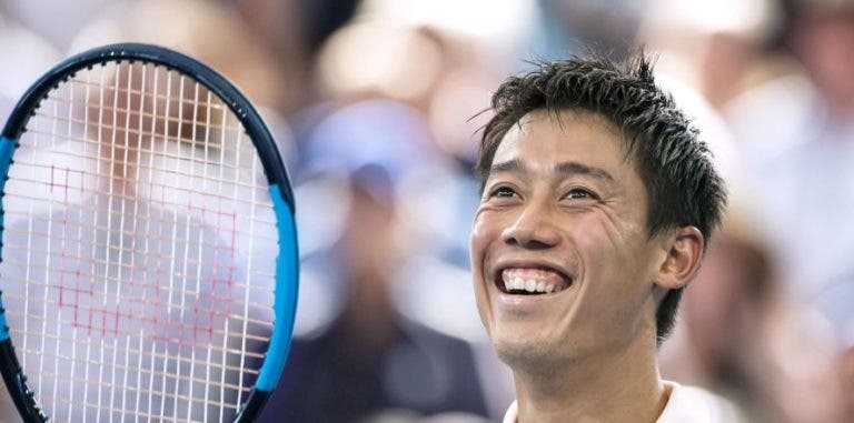 Novo design da raqueta de Nishikori será decidido… pelos fãs
