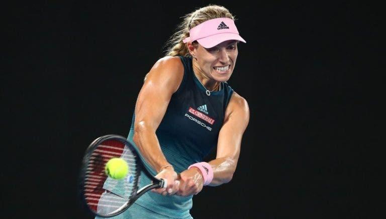 Kerber esmaga jovem australiana rumo aos oitavos-de-final