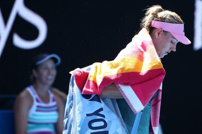 Kerber é atropelada e despede-se de Melbourne nos 'oitavos'