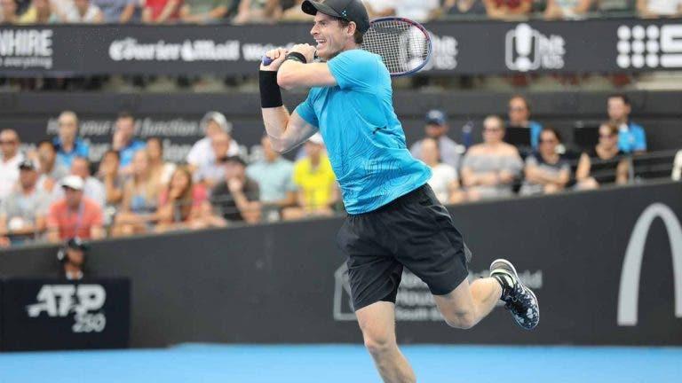 Murray joga a bom nível e vence no regresso à competição em Brisbane