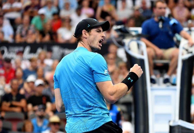 Vitória de Andy Murray marcada por ponto genial