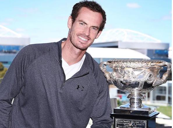 Andy Murray confirma presença no Australian Open em 2020