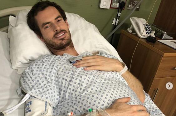 Murray foi operado: «Espero que seja o fim da dor na anca»