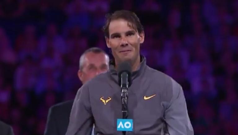 [VÍDEO] Discurso pós final de Nadal emocionou até a mãe de Andy Murray