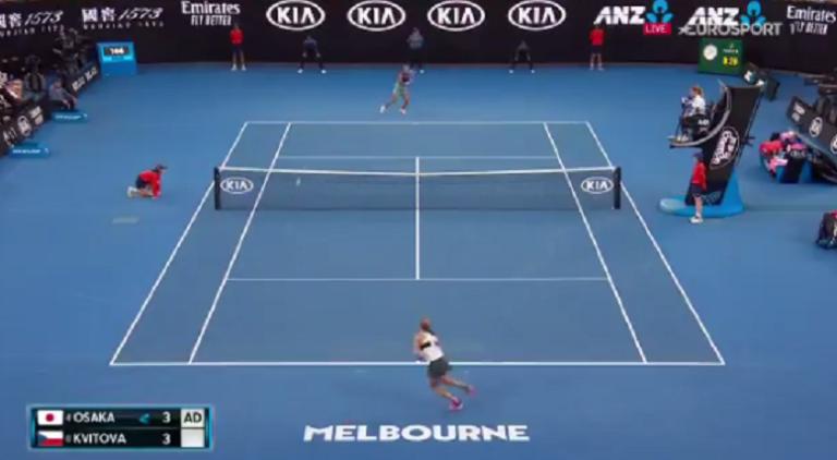 [VÍDEO] Final do Australian Open arranca com pontos de poderoso ténis ofensivo