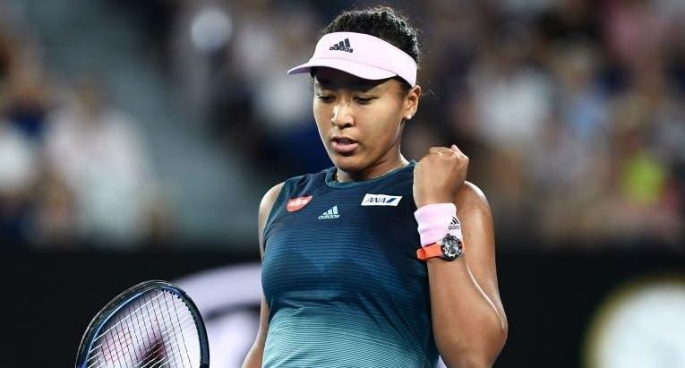 Osaka apanha susto mas avança para a terceira ronda em Miami