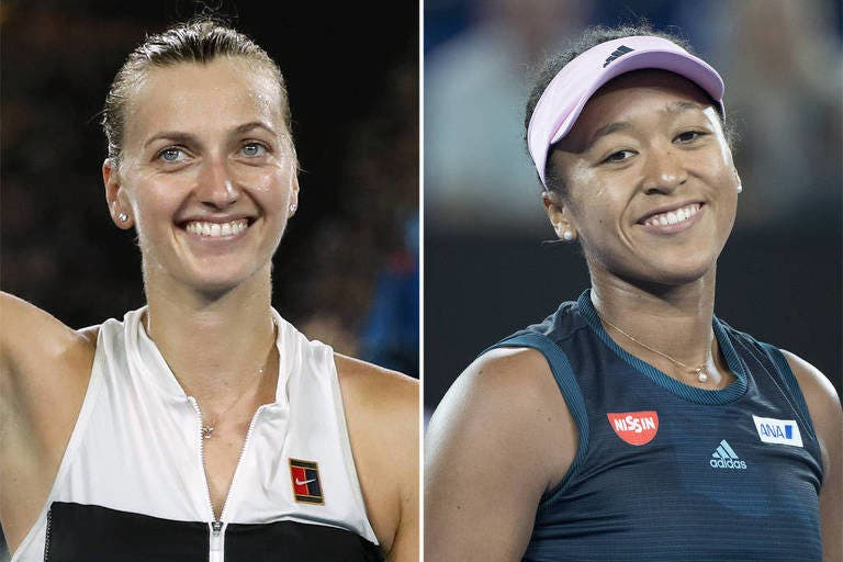 Osaka vs. Kvitova: a final feminina do Australian Open em números