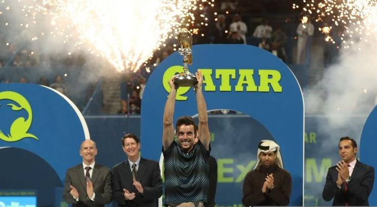 Bautista Agut é campeão em Doha e ganha um título em janeiro pelo 4.º (!) ano seguido