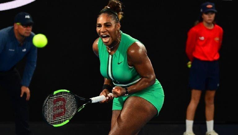 Serena faz mais história: é a mais velha de sempre a bater uma número 1