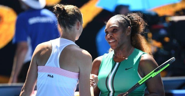 Serena deixa-se de desculpas: «Pliskova jogou o seu melhor ténis nos match points»