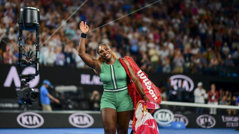 Onde param os troféus de Serena? «Só guardo o que Venus me deu aos 8 anos»