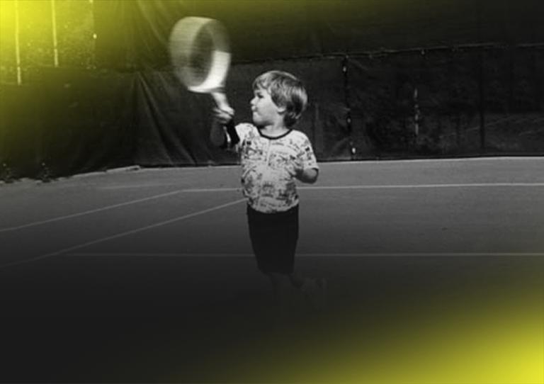 Veja como eram estes 12 jogadores de ténis em criança
