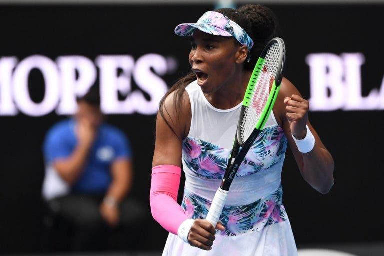 Venus vira encontro do avesso e ruma à segunda ronda