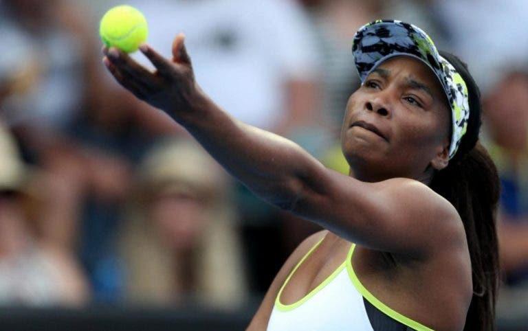 Venus Williams após ser despachada de Toronto: «Tenho de treinar muito mais»