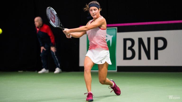 Inês Fonte, 17 anos, exulta após primeira vitória na Fed Cup: «Vou sempre recordar este dia»
