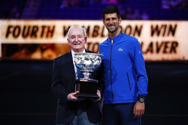 Vajda revela previsão certeira de Rod Laver sobre Djokovic