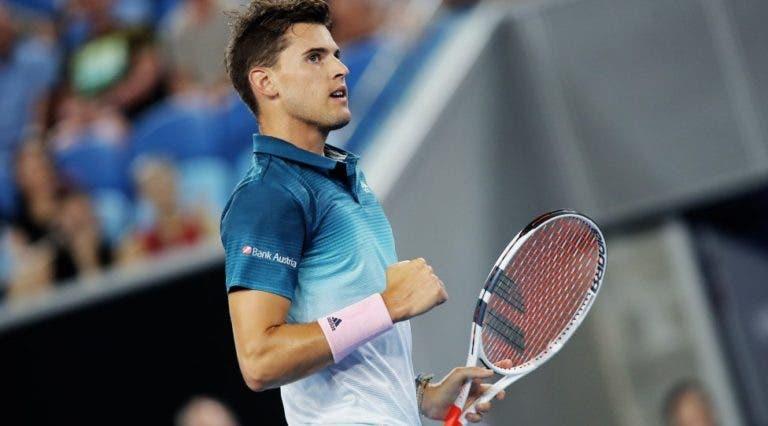Thiem supera Raonic em longa batalha e marca encontro com Federer na final em Indian Wells