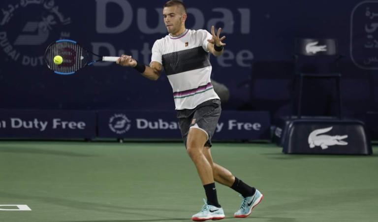 Coric elimina Basilashvili e marca reencontro com Federer nas 'meias' do Dubai