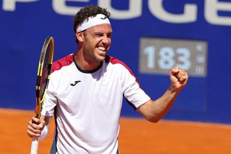 Cecchinato tem uma estatística peculiar nos torneios do Grand Slam