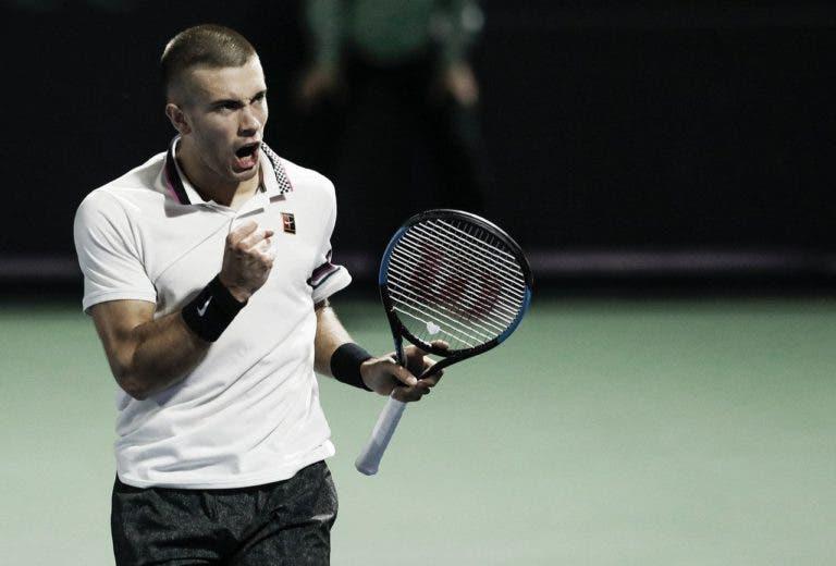 Coric ultrapassa Berdych em grande batalha e apura-se para os 'quartos' no Dubai