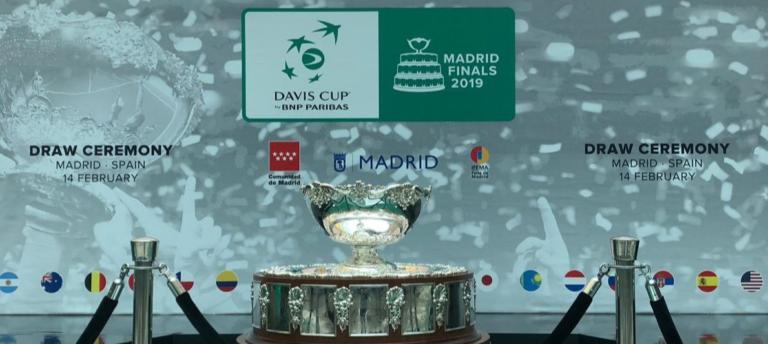 [VÍDEO] Acompanhe o sorteio das Davis Cup Finals, em DIRETO