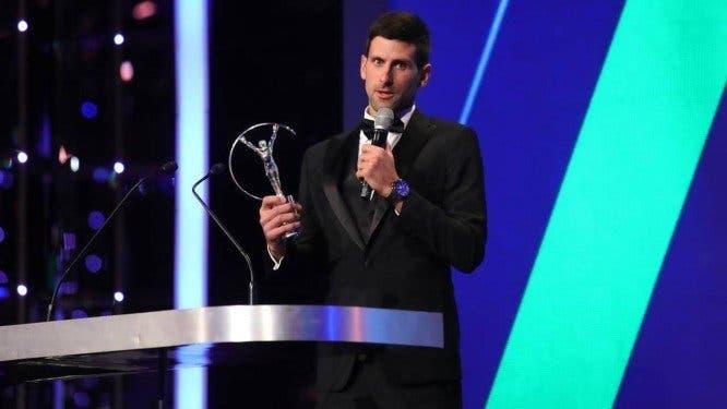[VÍDEO] O longo e fantástico discurso de Djokovic nos Laureus