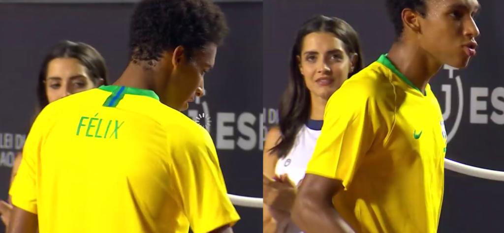 Auger Aliassime vestiu a canarinha e deixou arqui-bancada rendida no Rio