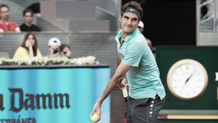 Confirmado: Federer vai jogar o ATP 1000 de Madrid
