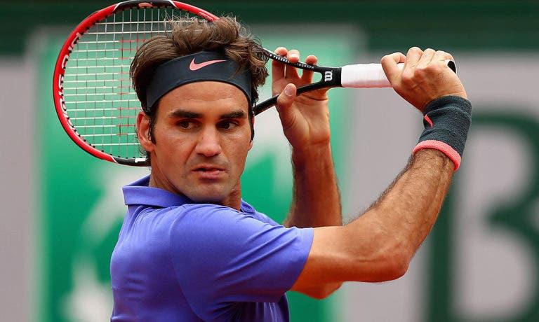 Federer acredita no título em Roland Garros? «Hum… diria que sim mas preciso de sorte»