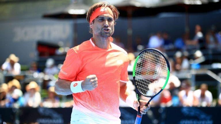 Num jogo com primeiro set épico, Ferrer joga a bom nível e avança para os 'oitavos' em Buenos Aires