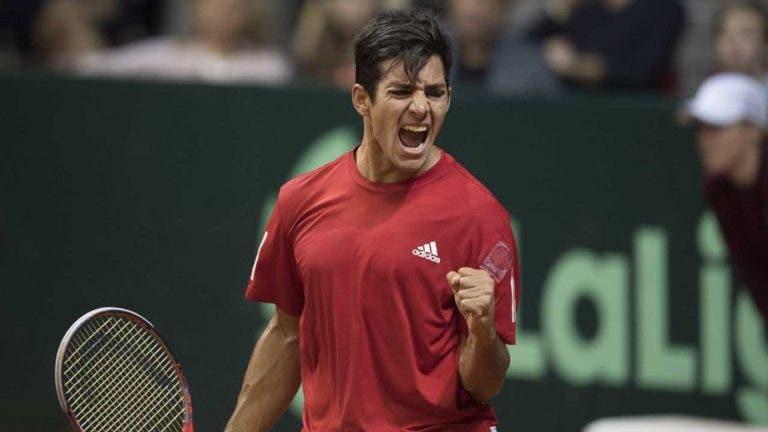 Garín arrasa: «No Chile, o apoio para o ténis é zero»