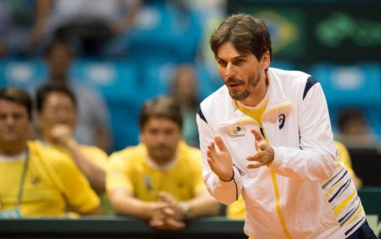 Após derrota caseira com a Bélgica, selecionador brasileiro da Davis… despediu-se