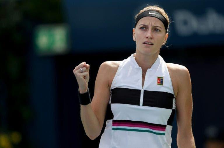 P3tra strikes again. Kvitova vira sobre Hsieh rumo à final no Dubai