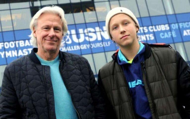 Bjorn Borg fala do filho que está a iniciar carreira: «Quando disse que se ia dedicar ao ténis comecei a chorar»