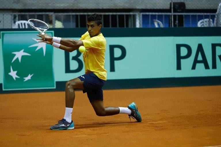 Brasil 1-3 Bélgica: Thiago Monteiro é derrotado e seleção brasileira falha acesso às Davis Cup Finals