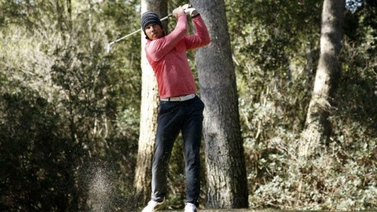 Rafa Nadal foi vice-campeão balear… de golfe