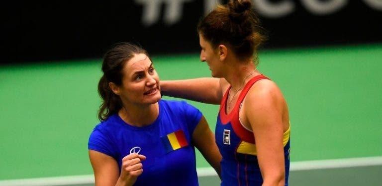 Roménia derrota campeã Rep. Checa em confronto dramático rumo às 'meias' da Fed Cup