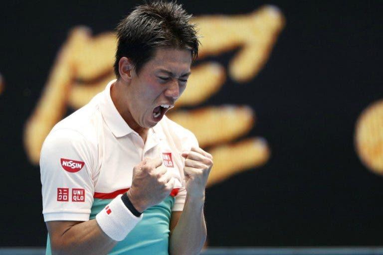 Nishikori sobrevive a duelo dramático em Indian Wells