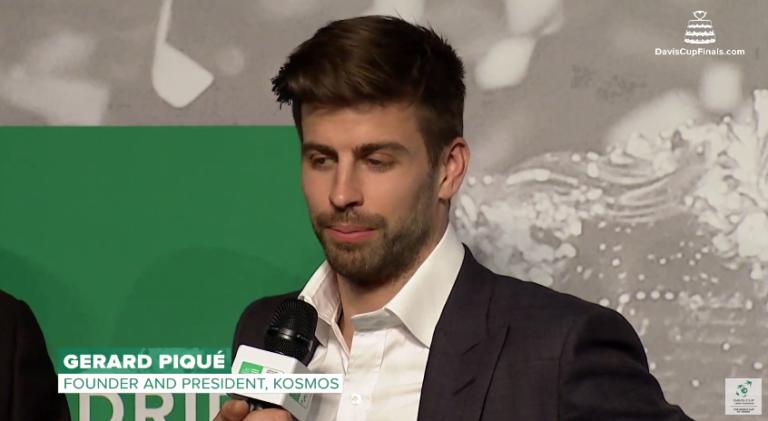 Afinal, por que razão é que Piqué se 'meteu' no ténis? Ele explica