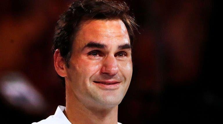 A incrível revelação de Federer: «Estou sempre a chorar quando vejo filmes no avião»