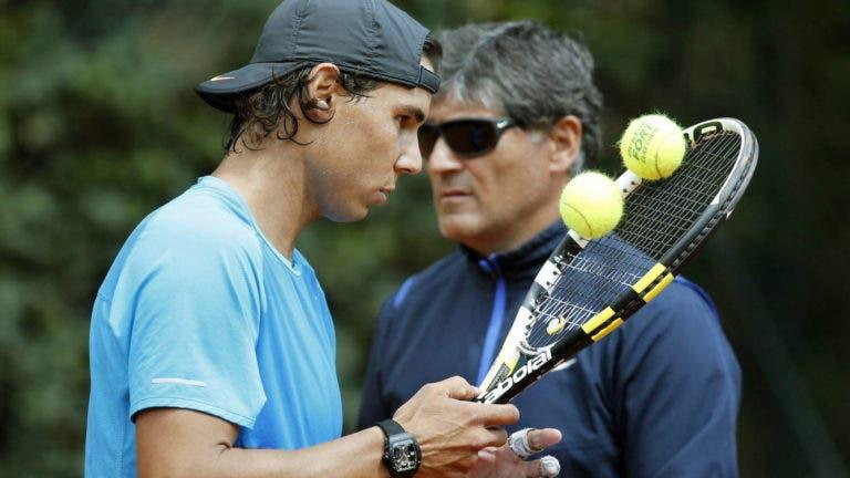 Toni Nadal e a espetacular conversa com Rafa antes da final de Monte Carlo em 2006 contra Federer