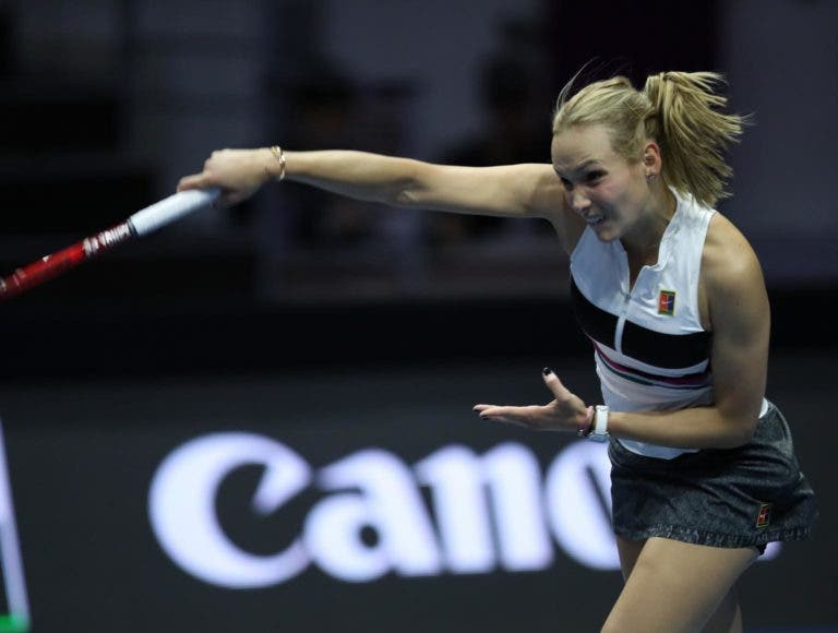 Vekic despacha Kvitova e apura-se para as meias-finais em São Petersburgo