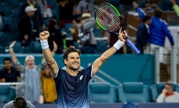 Eterno! Ferrer faz uma das melhores exibições dos últimos anos e ELIMINA Zverev rumo à 3.ª ronda em Miami
