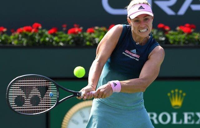 Kerber apanha susto mas segue para os oitavos de final em Indian Wells