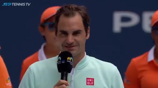 As grandes palavras de Federer para Isner: «És um grande jogador e uma grande pessoa»