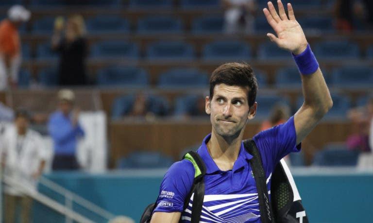 Djokovic e as más prestações em Indian Wells/Miami: «O que se passou fora do court afetou-me»