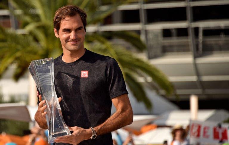 Federer: «Se não voltar a jogar em Miami tive aqui um final feliz»