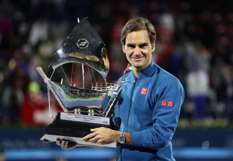 Há um ano Roger Federer conquistava o 100.º título da carreira