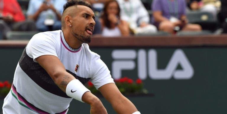 Kyrgios sobre falhar o duelo com Djokovic: «Não joguei bem, é simples»