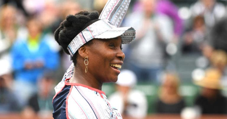 Venus Williams continua em grande e já está nos quartos de final em Indian Wells